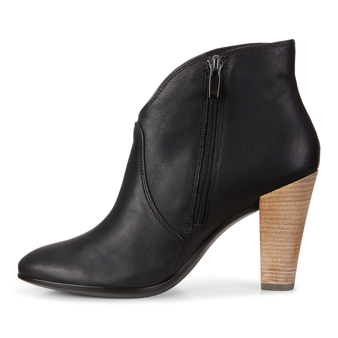 ECCO Shape 75 Side Zip Bootie