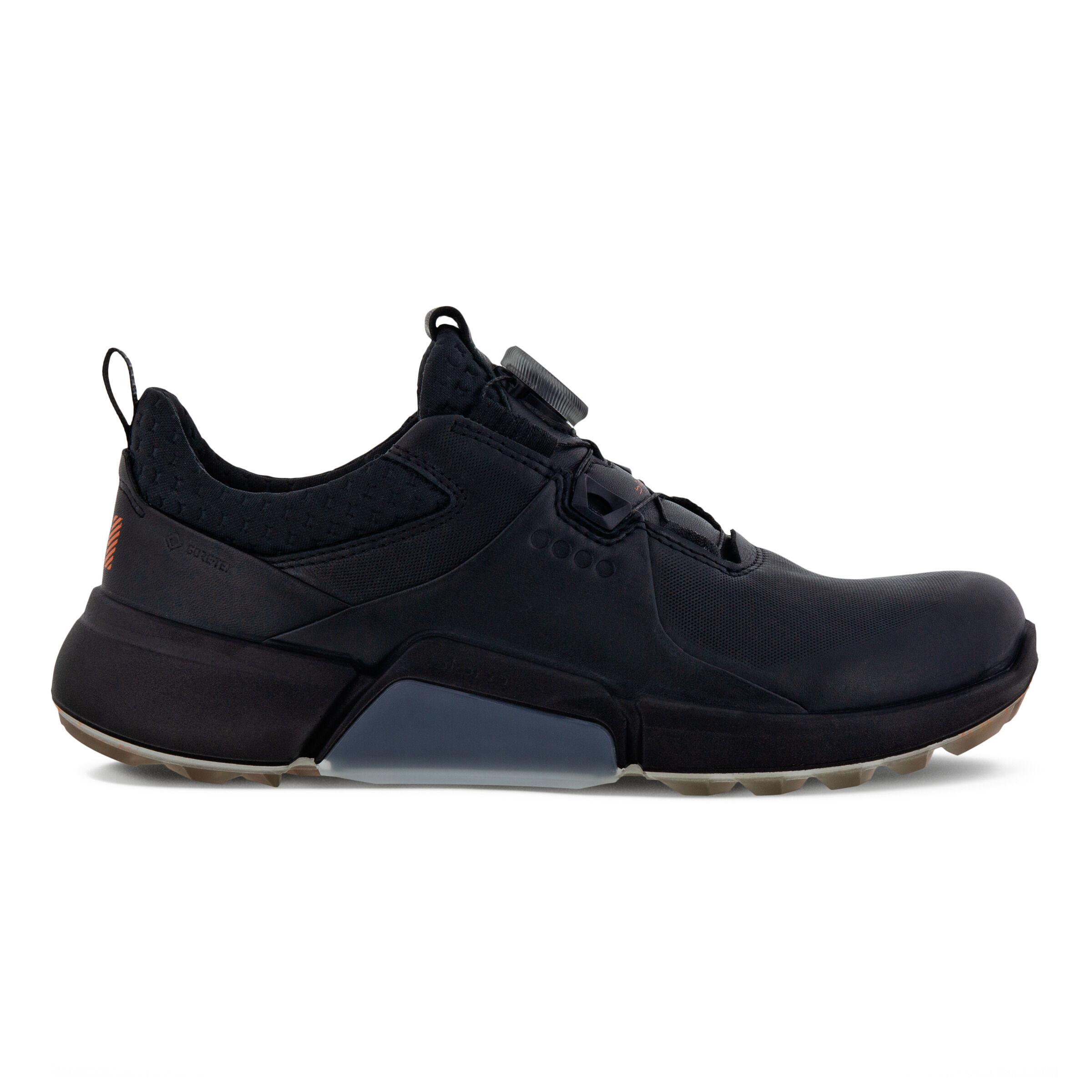 에코 우먼 골프화 ECCO Womens BIOM H4 BOA Golf Shoe,BLACK