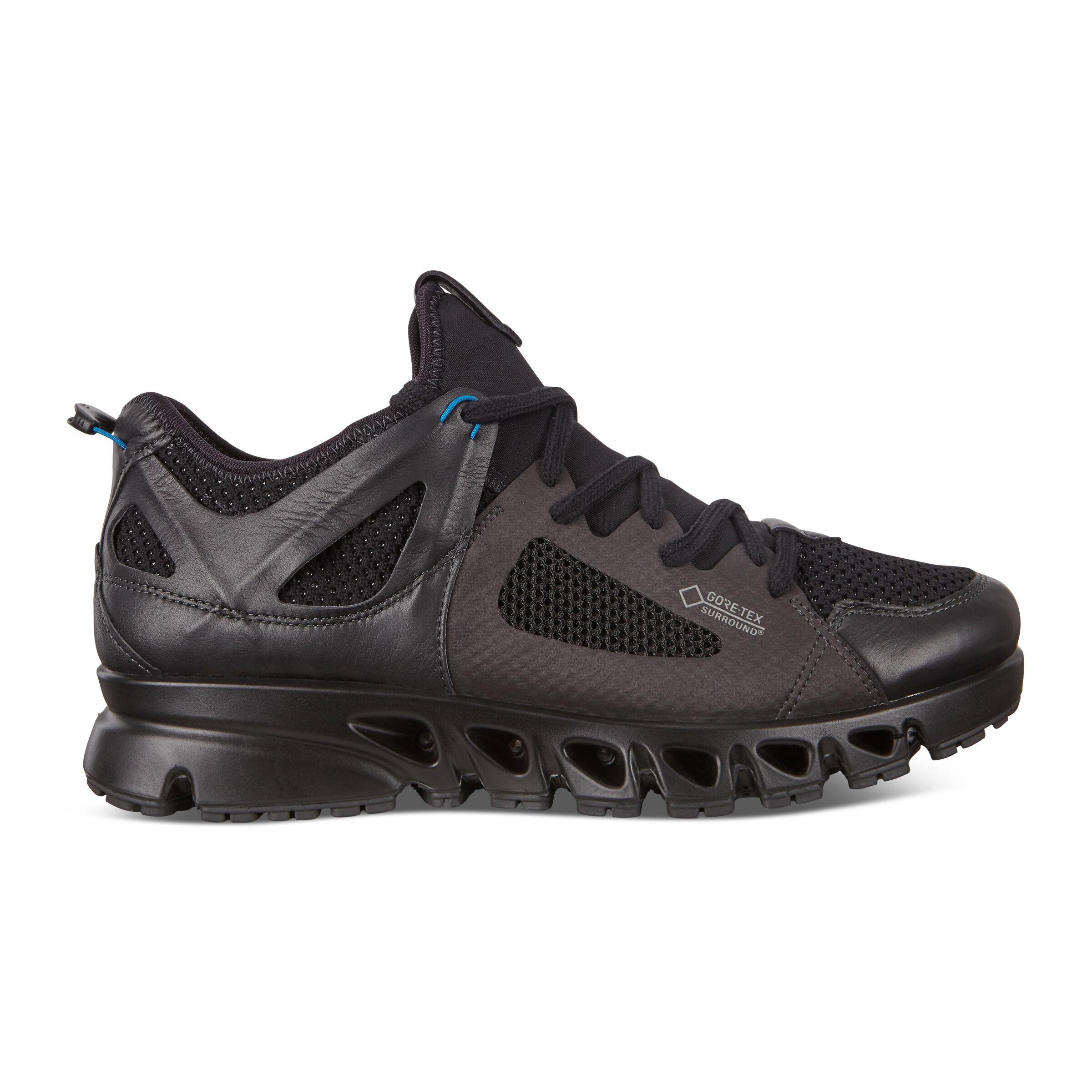 에코 멀티벤트 아웃도어 슈즈 남성화 ECCO Multi-Vent Mens Low GTXs Tex Shoes,black/black/olympian blue