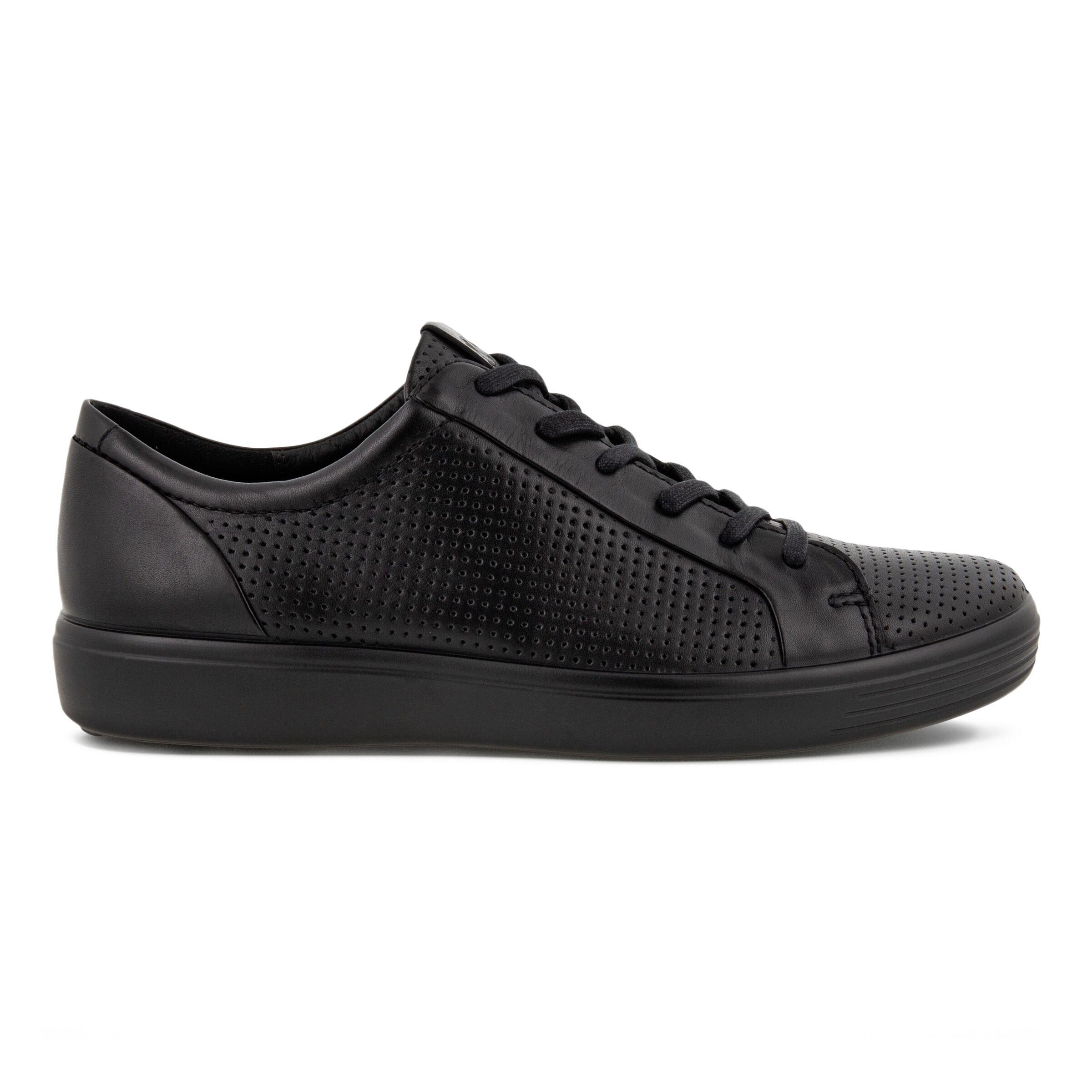 에코 ECCO SOFT 7 Mens Laced Shoes,BLACK