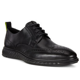 ECCO ST.1 Hybrid Lite Wingtip Brogue Shoes