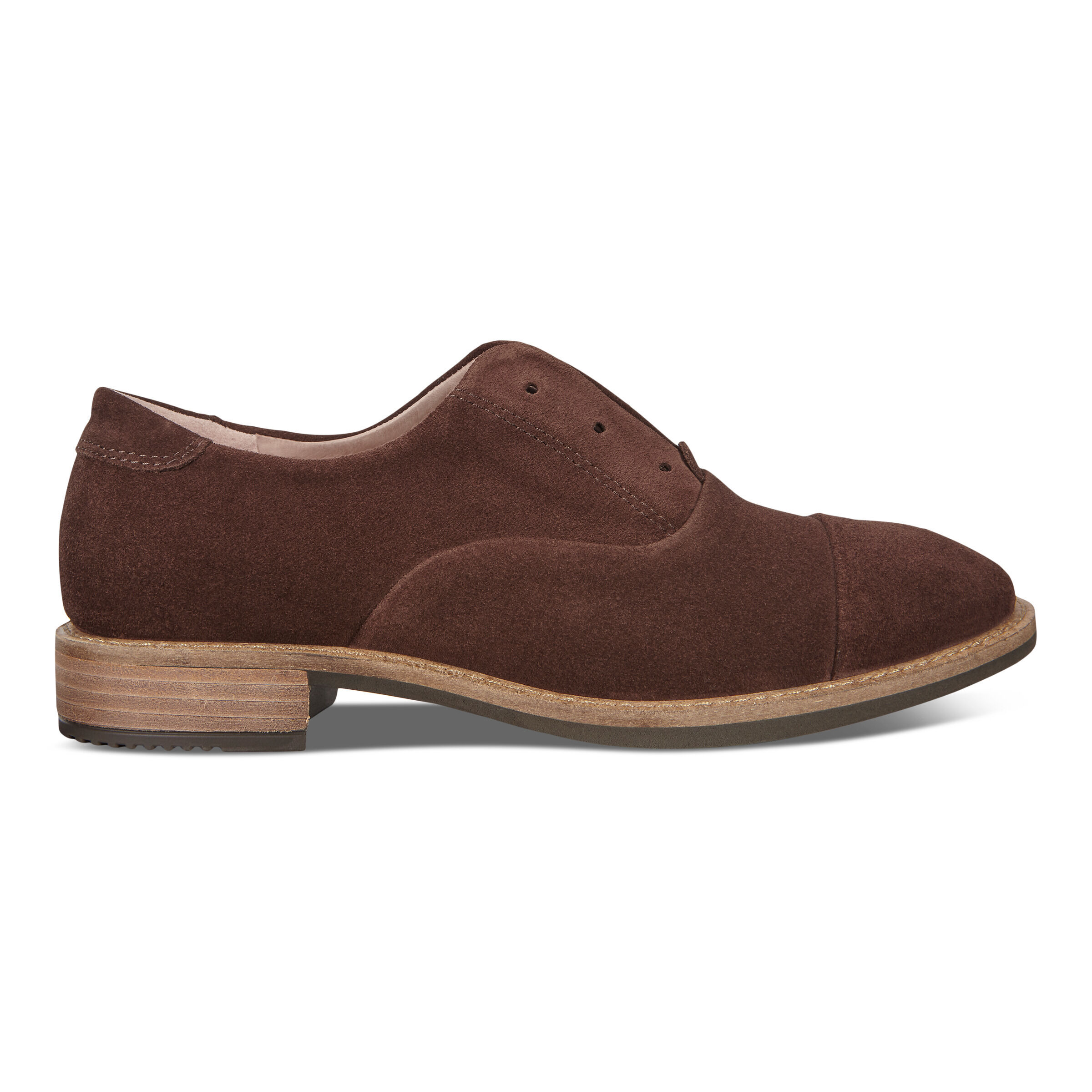ECCO Sartorelle 25 Tailored Suede Womens Shoes