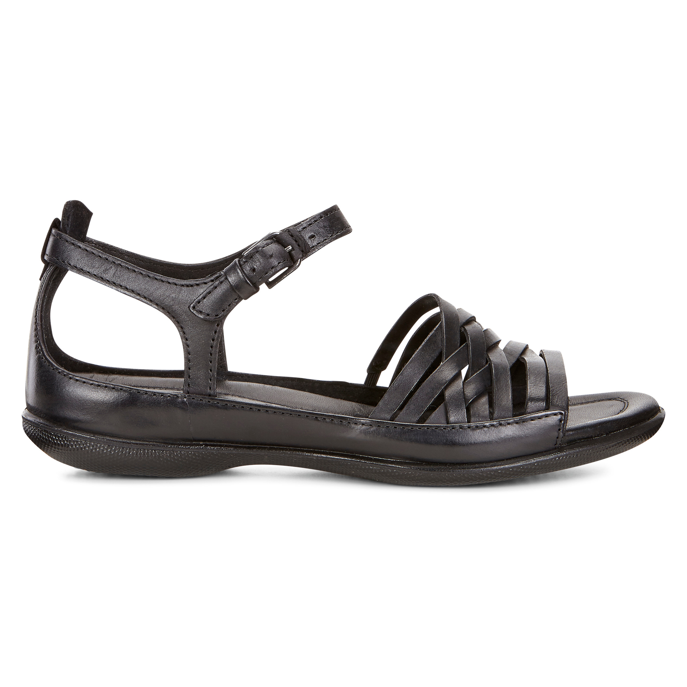 ECCO Flash Lattice Sandal Size 10-10.5 Black