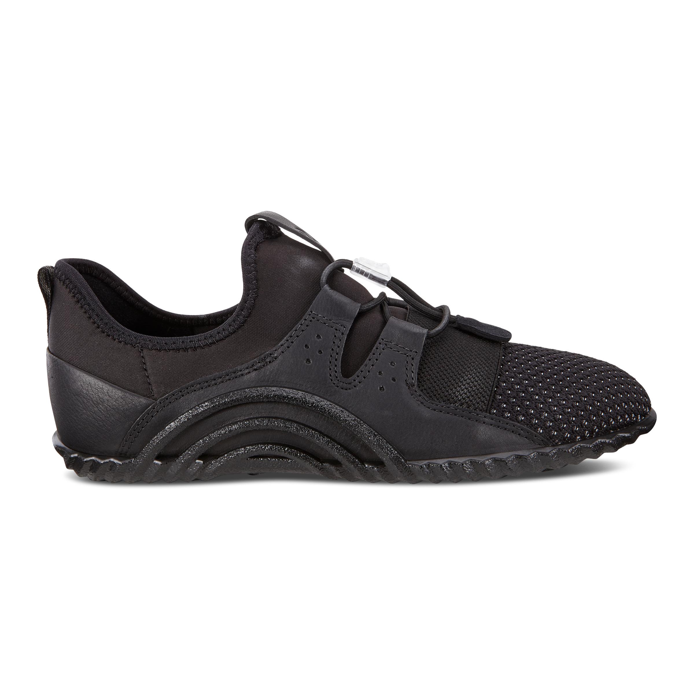 ECCO Vibration 1.0 Shoe Sneakers Size 8-8.5 Black