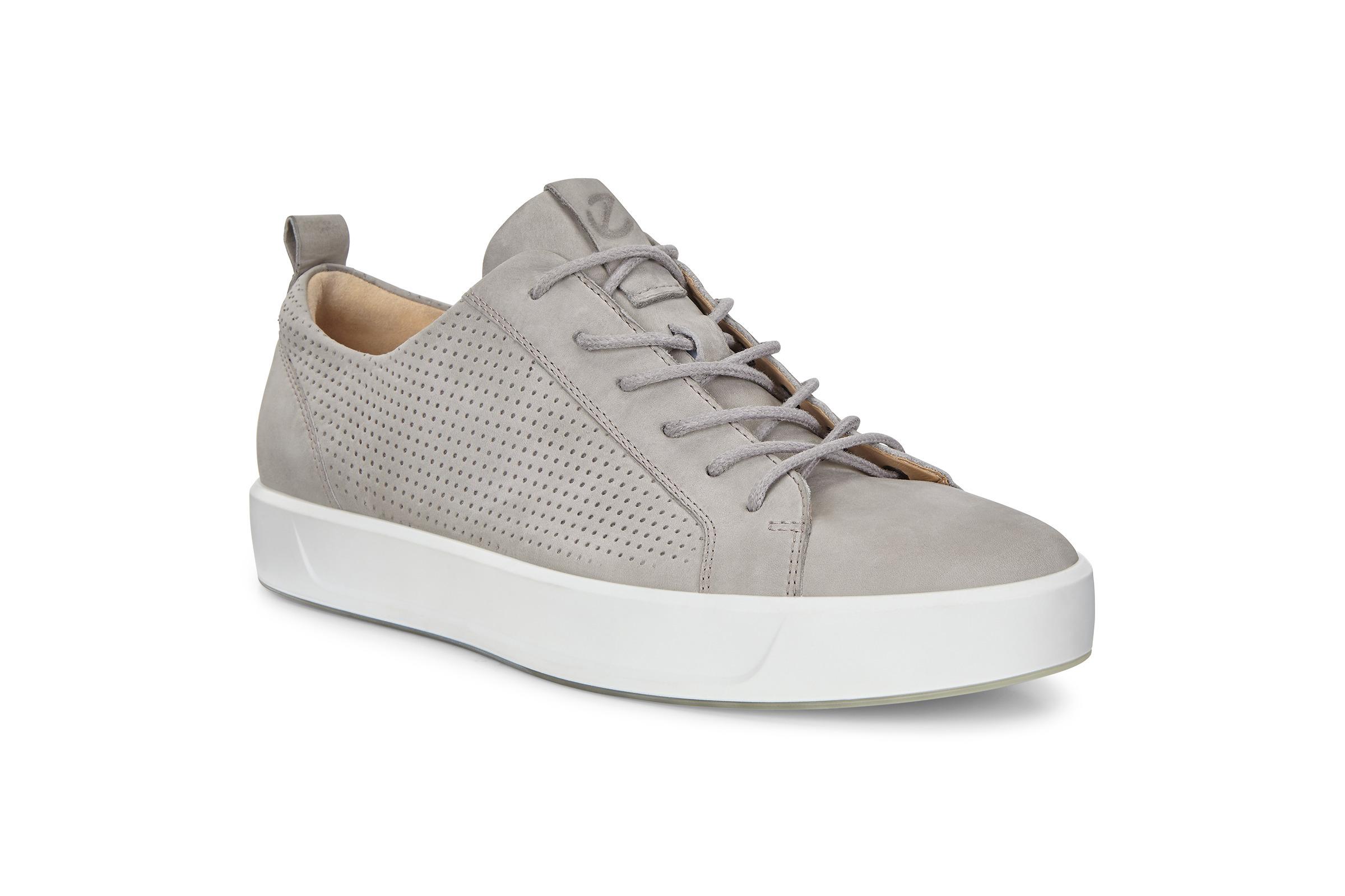 ECCO Soft 8 M Shoe Sneakers Size 5-5.5 Moon Rock