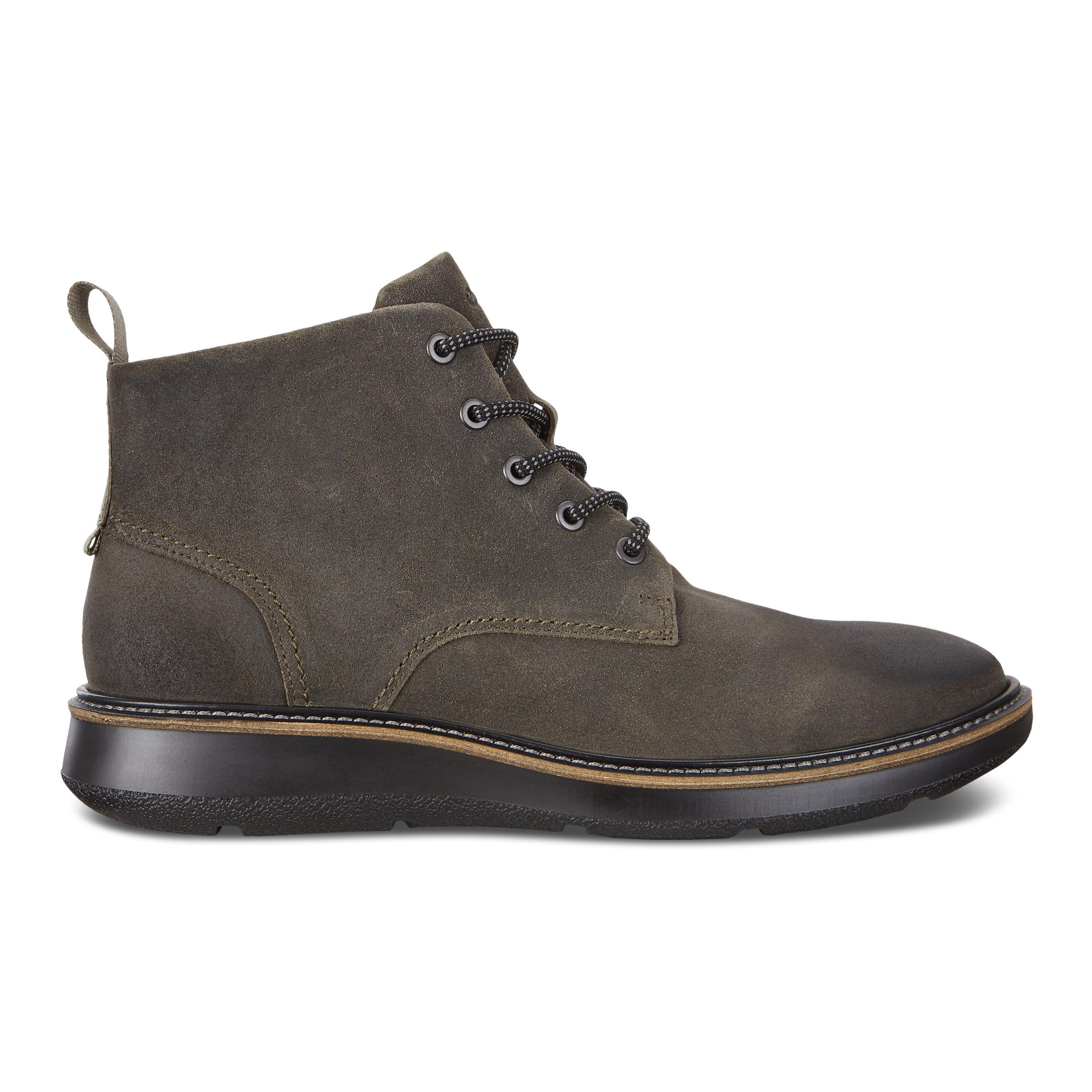 ECCO Aurora Mid Boot Size 10-10.5 Tarmac