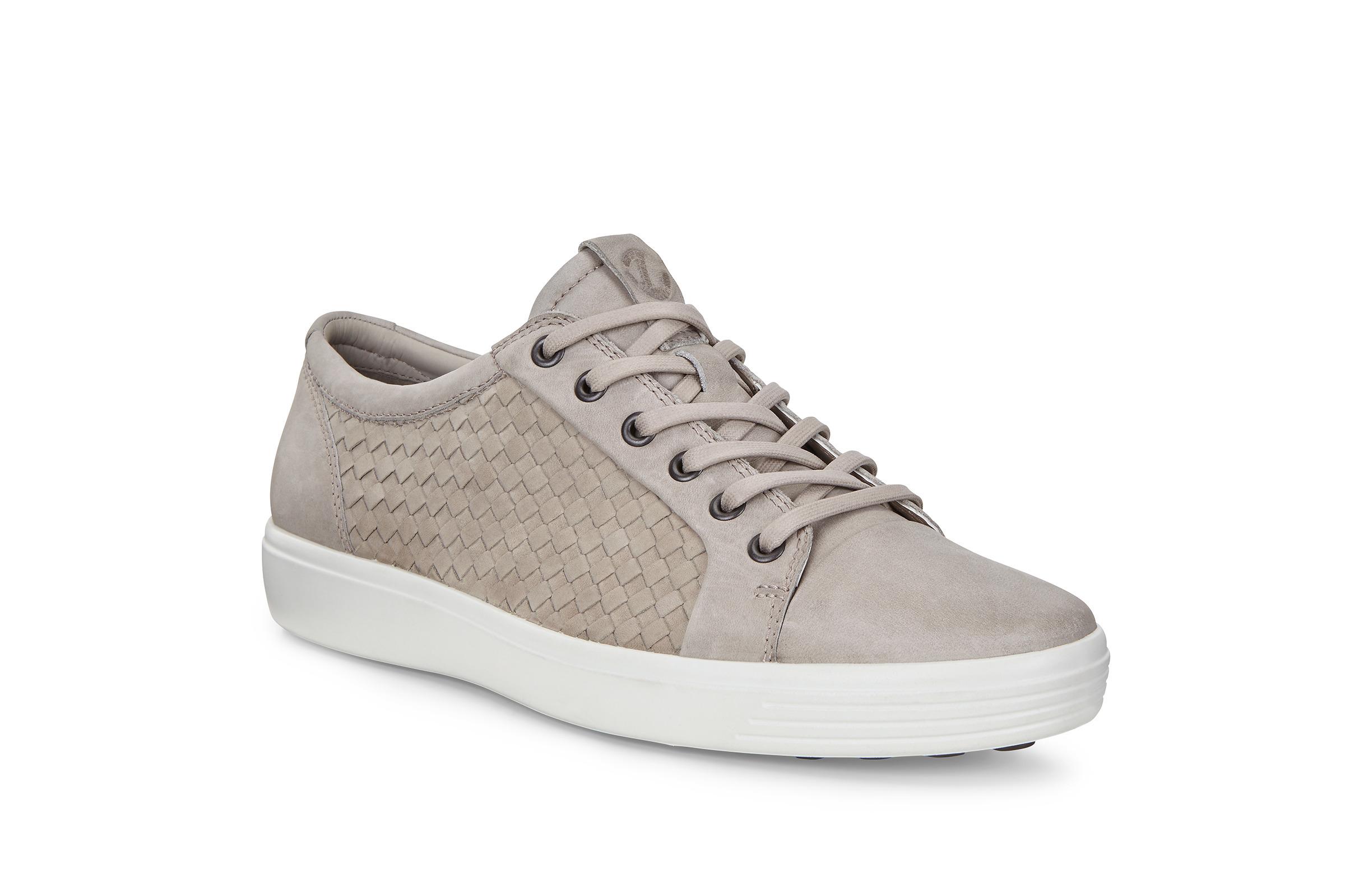 ECCO Soft 7 M Sneaker Size 12-12.5 Moon Rock