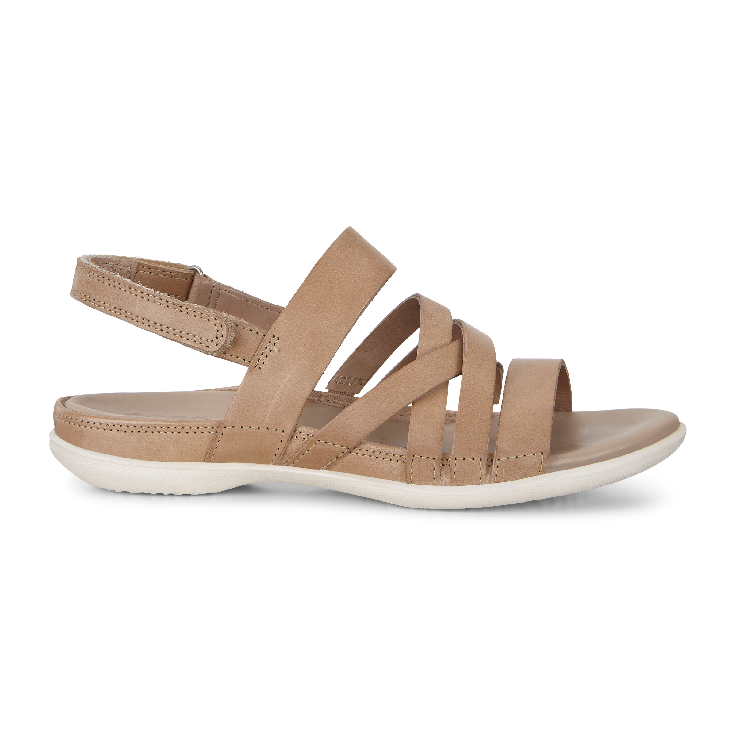 ECCO Flash Casual Sandal Size 6-6.5 Dune