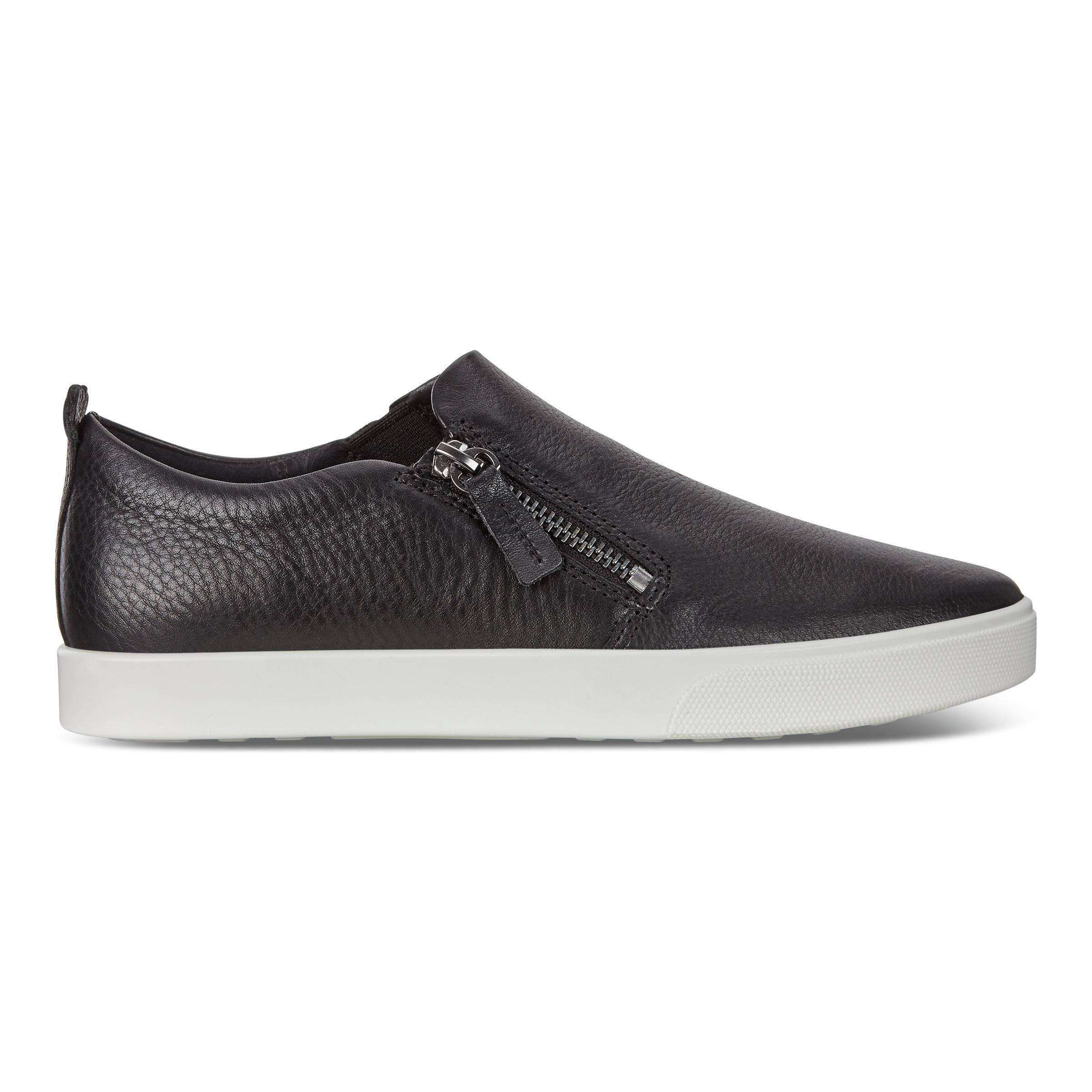 ECCO Gillian Shoe Sneakers Size 8-8.5 Black