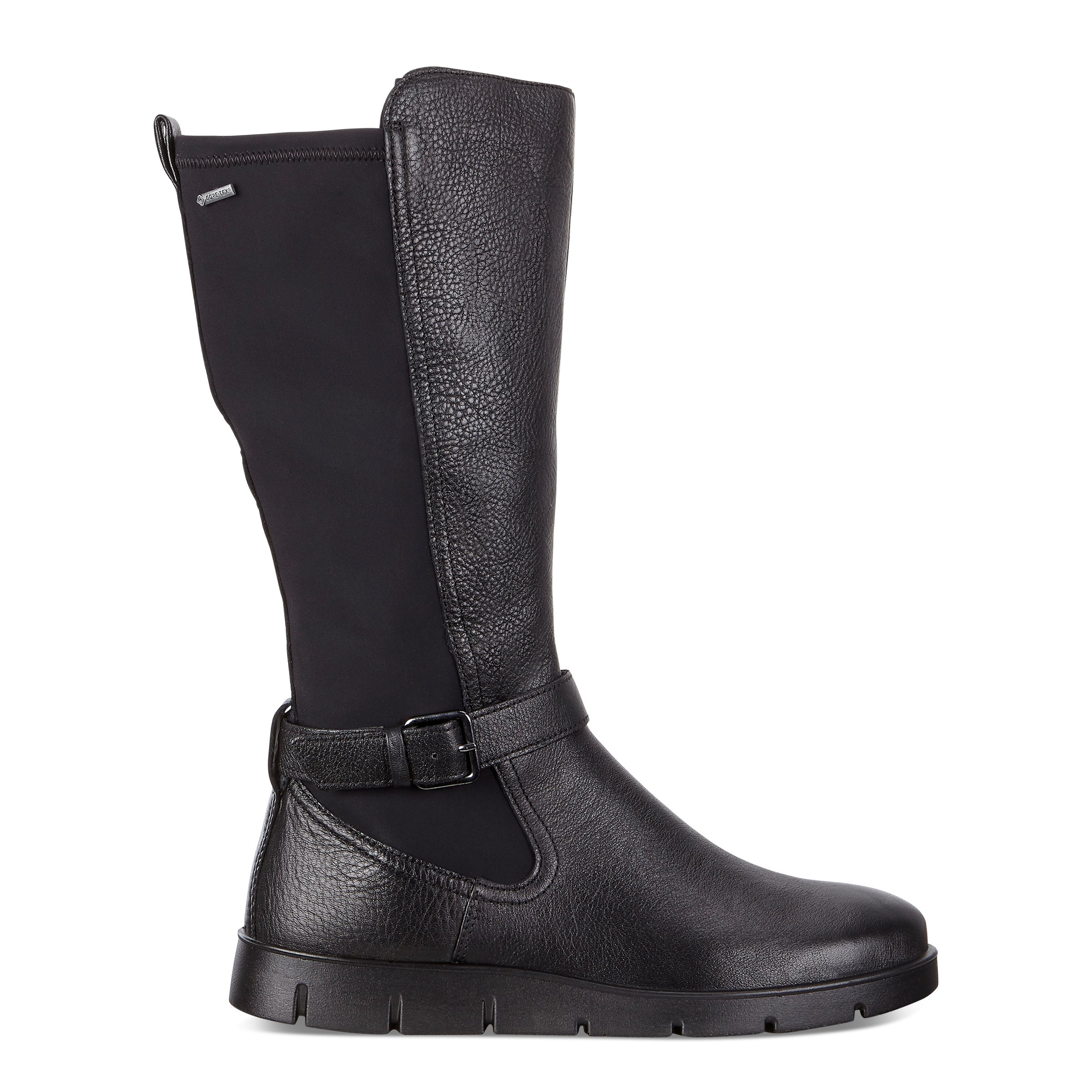 ECCO Bella Gtx Tall Boot Size 7-7.5 Black