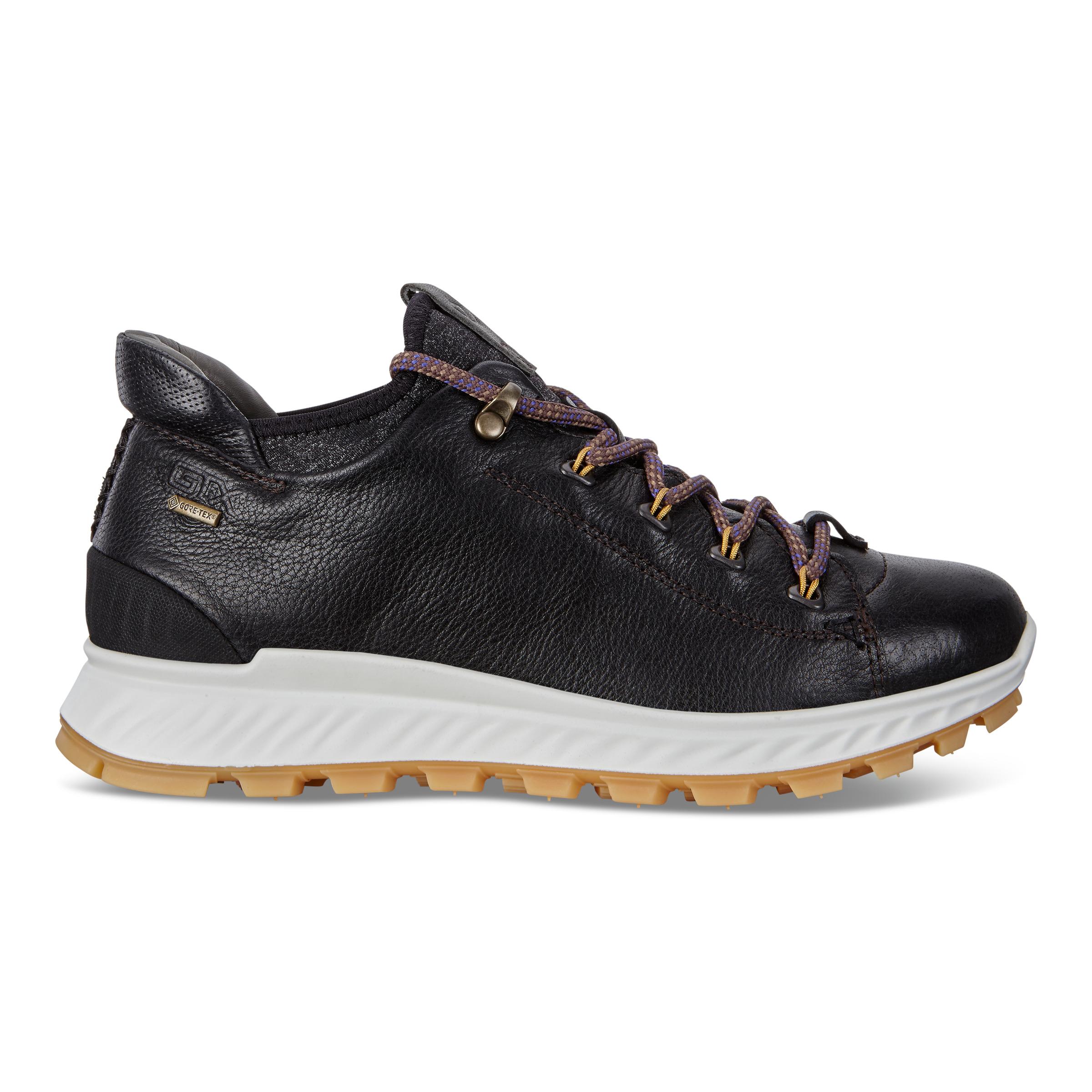 ECCO Womens Exostrike Gtx Mid Boots Size 5-5.5 Black