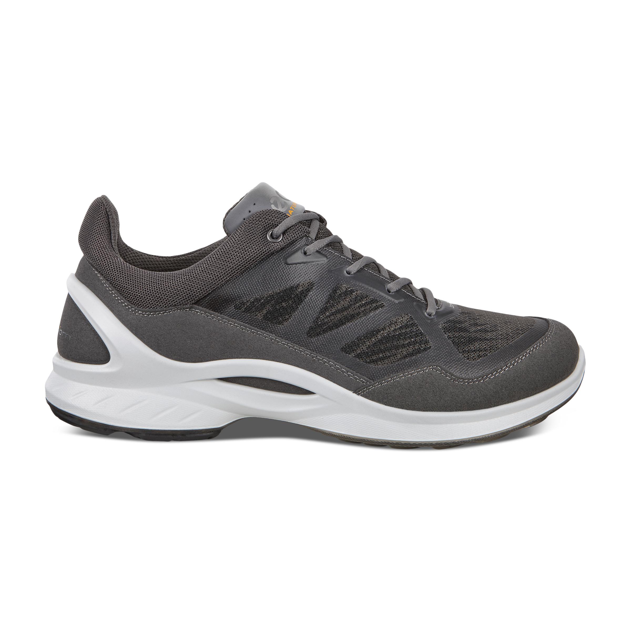 ECCO Biom Fjuel M Outdoor Shoe Sneakers Size 10-10.5 Dark Shadow