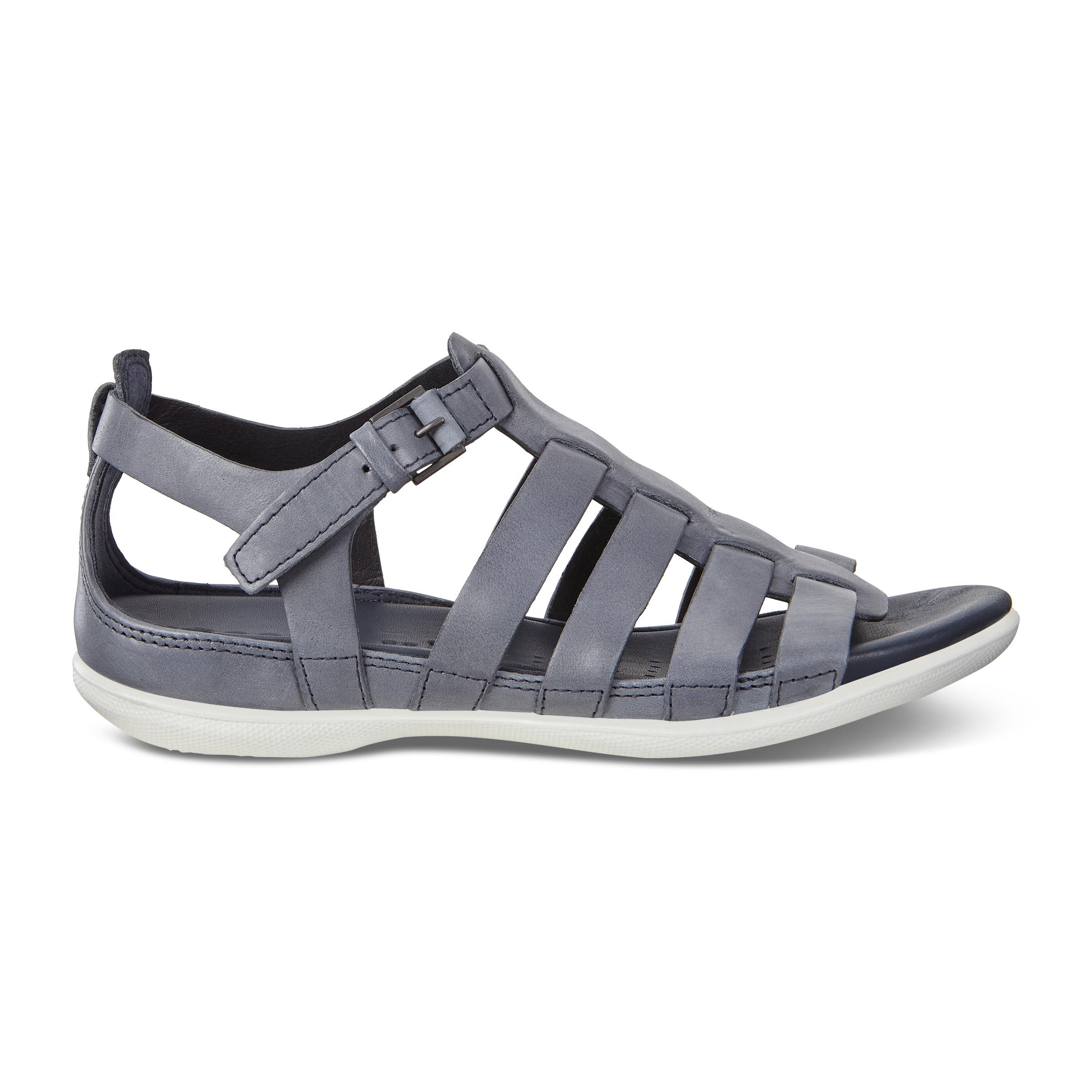 ECCO Flash Flat Sandal Size 10-10.5 Marine