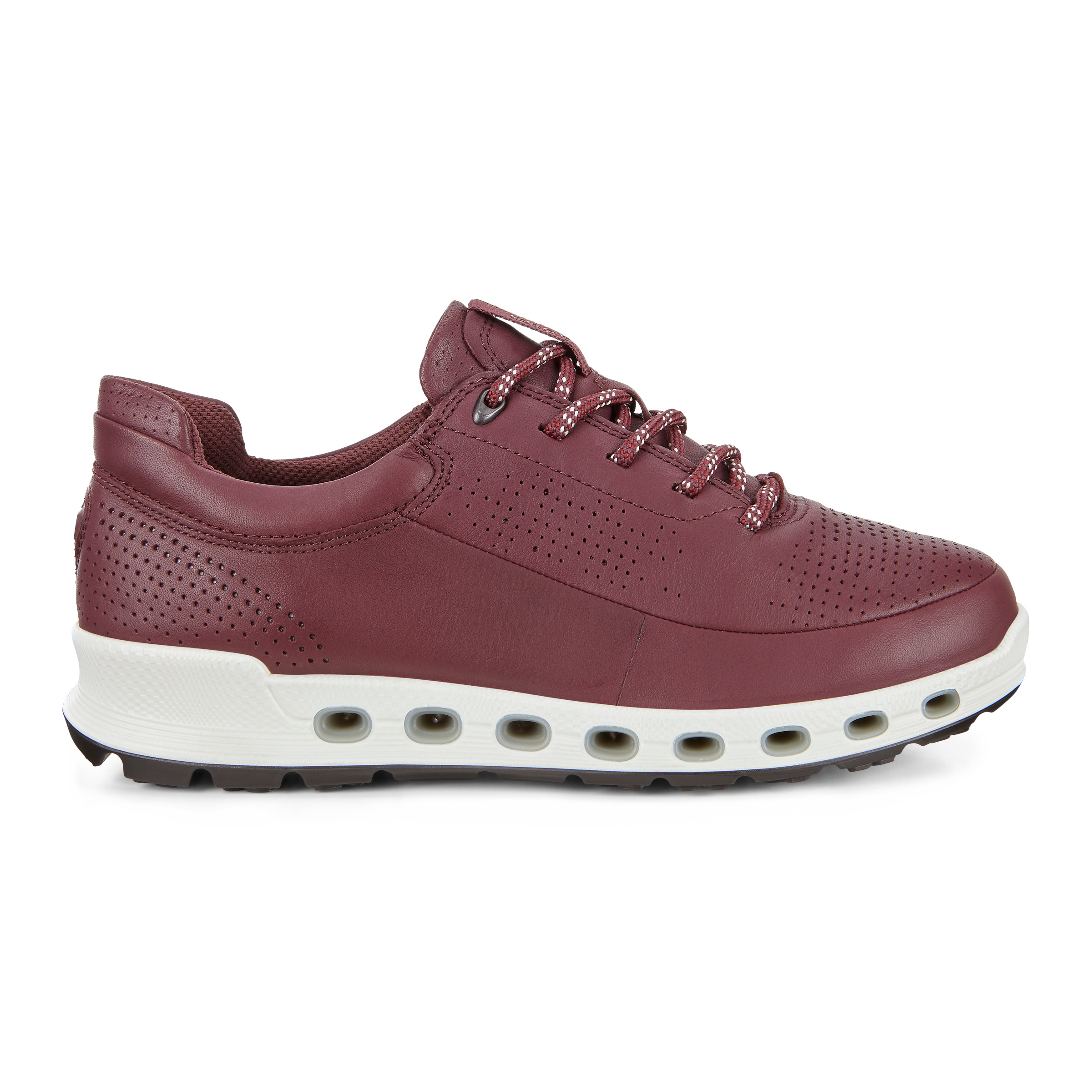 ECCO Womens Cool 2.0 Gtx Sneakers Size 7-7.5 Wine