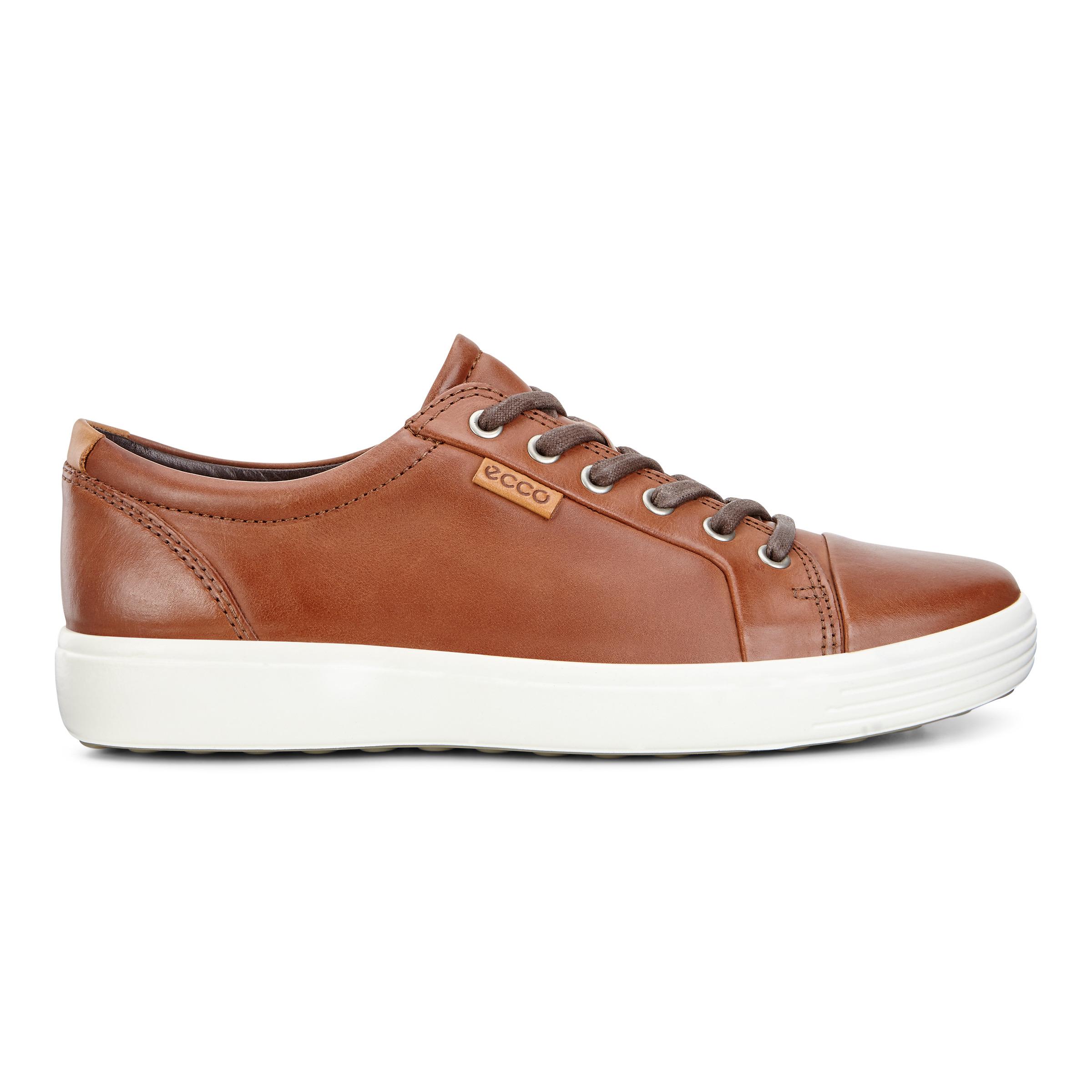 ECCO Soft 7 M Sneakers Size 12-12.5 Mahogany