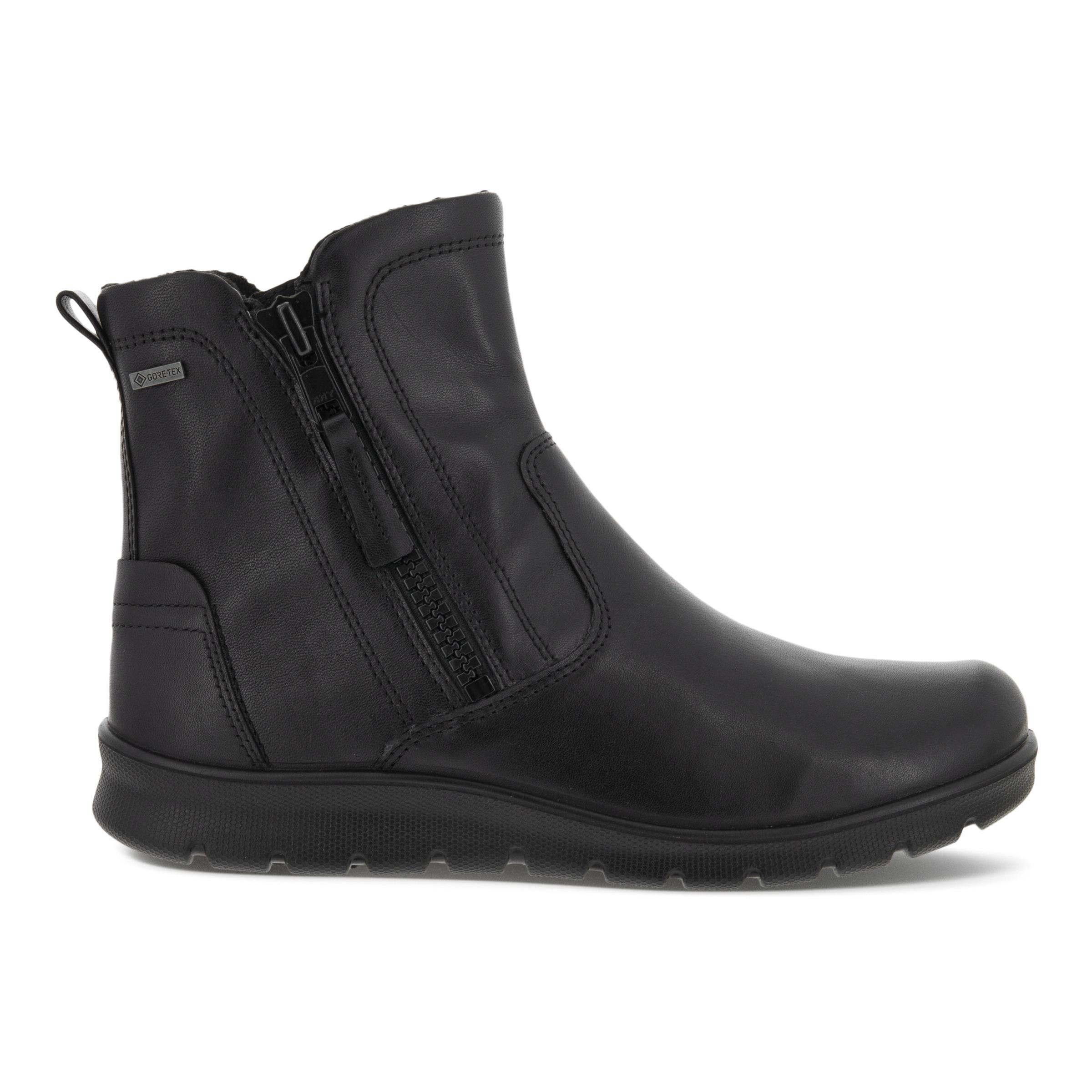 ECCO Babett Gtx Bootie Size 3-3.5 Black