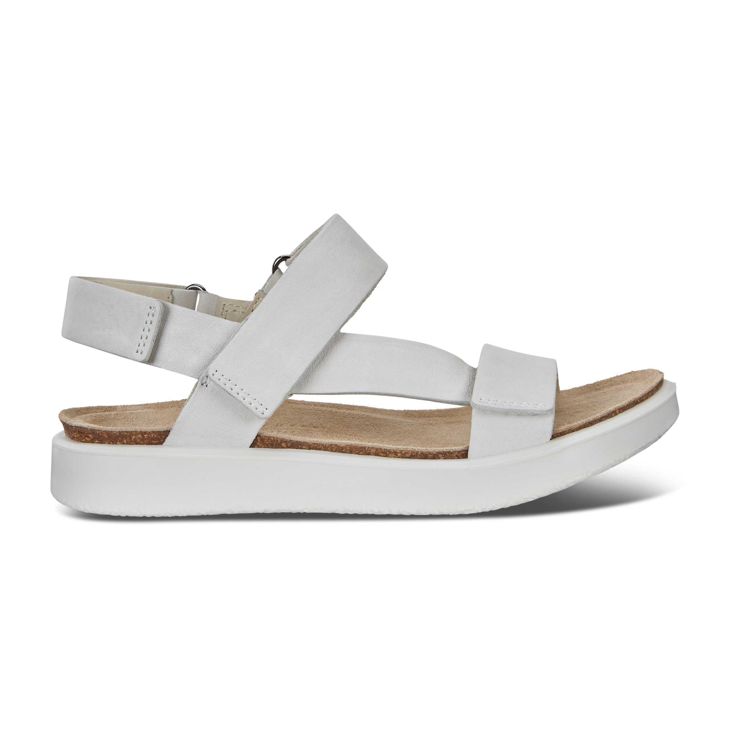 UPC 809704946528 product image for ECCO Corksphere Sandal W Shoe Size 8-8.5 White | upcitemdb.com